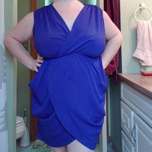 Mai Tai Tulip Wrap Dress 2X